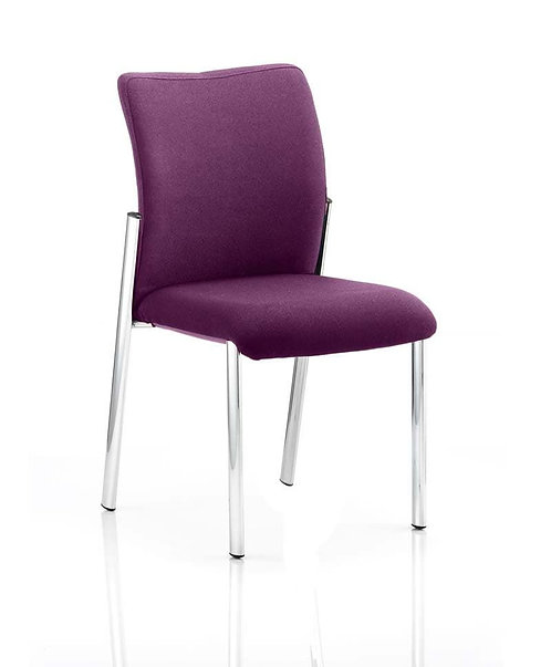 Academy Bespoke Colour Fabric Without Arms Tansy Purple