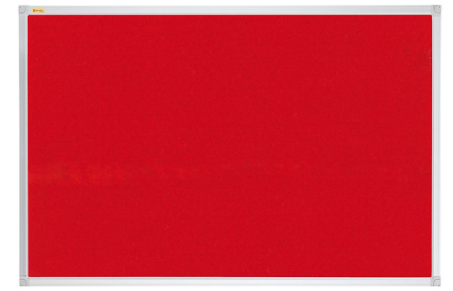 Felt Pin Board X-tra!Line� 60 x 45 CM Red