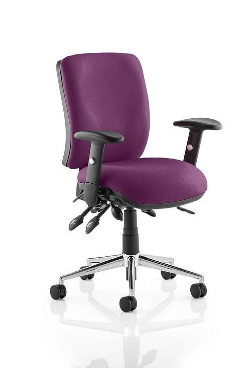 Chiro Medium Back Bespoke Colour  Tansy Purple