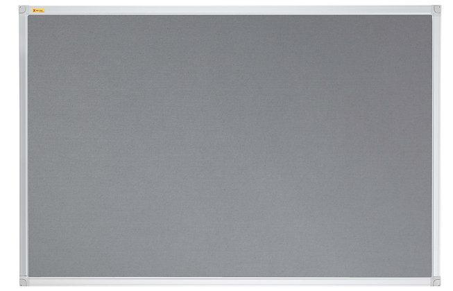Felt Pin Board Contract Line 90 x 60CM Grey