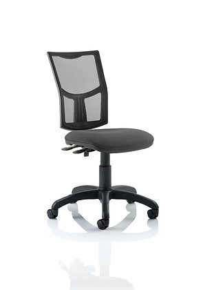Eclipse Plus II Lever Task Operator Chair Mesh Back With Charcoal Seat