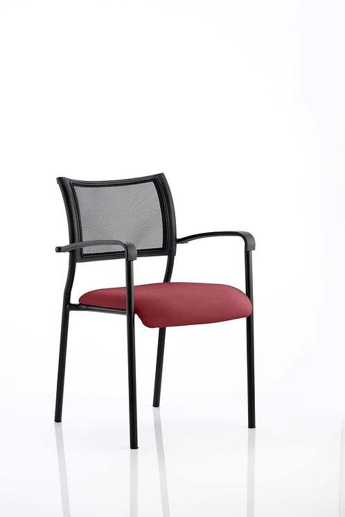 Brunswick Bespoke Colour Seat Black Frame ginseng Chilli