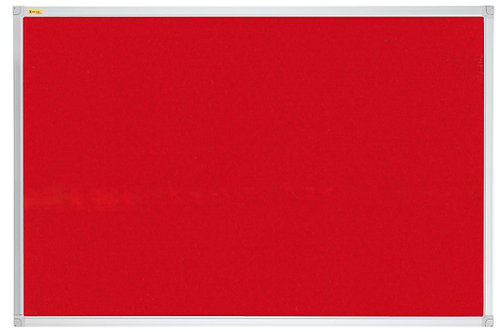 Felt Pin Board X-tra!Line� 120 x 120 CM Red