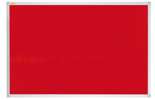 Felt Pin Board X-tra!Line� 120 x 120 CM Red
