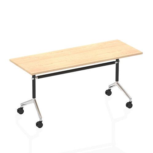 Impulse 1600 Flip Top Rectangular Table Maple