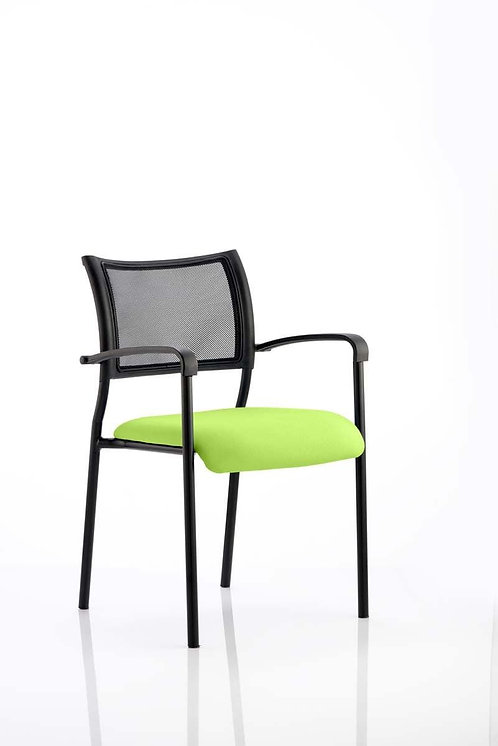 Brunswick Bespoke Colour Seat Black Frame myrrh Green