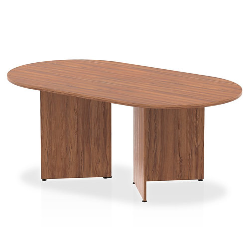 Impulse 1800 Boardroom Table Walnut