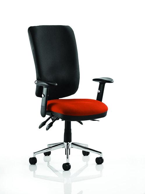 Chiro High Back Bespoke Colour Seat Tabasco Red