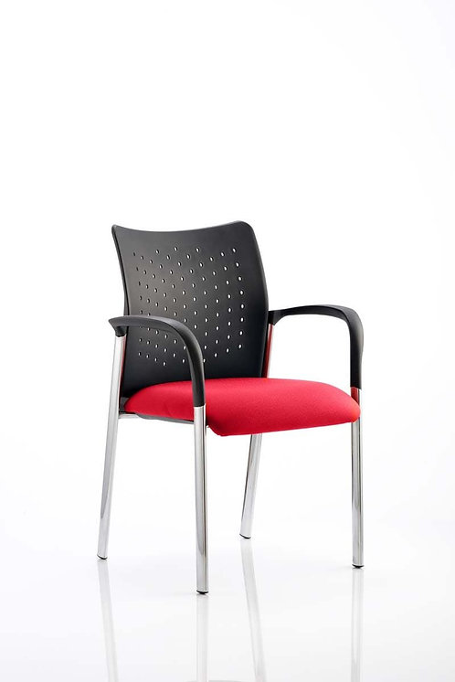 Academy Bespoke Colour Seat With Arms Bergamot Cherry