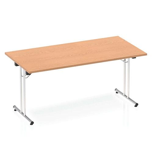 Impulse 1600 Folding Rectangular Table Oak