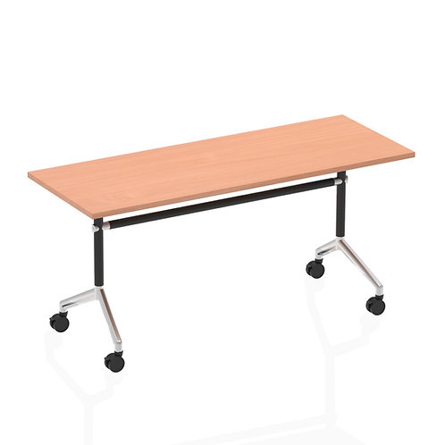 Impulse 1600 Flip Top Rectangular Table Beech