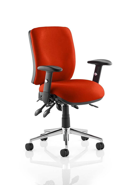 Chiro Medium Back Bespoke Colour  Tabasco Red