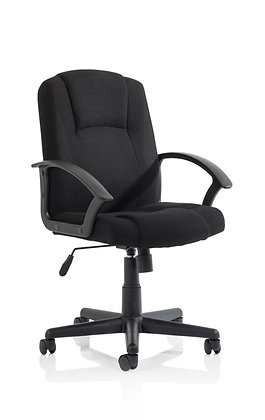 Bella Executive Manager Chair Black Fabric