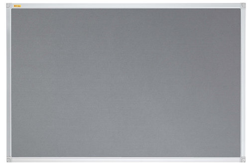 Felt Pin Board X-tra!Line� 120 x 120 CM Grey