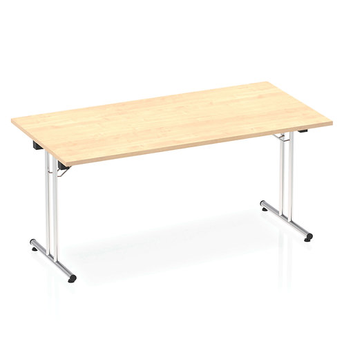 Impulse 1600 Folding Rectangular Table Maple
