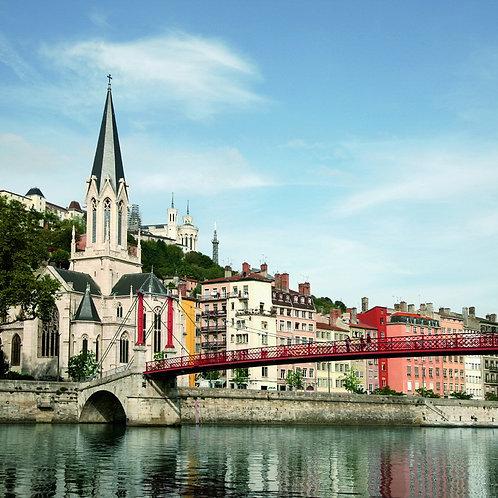 ล่องเรือแม่น้ำโรน 7 คืน เที่ยวฝรั่งเศส Lyon, Macon, Avignon, Arles, Viviers