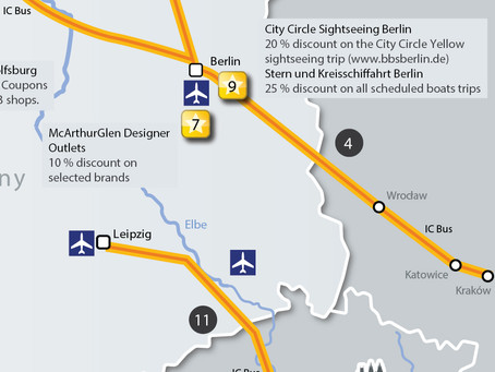 TRAVEL TO/FROM BERLIN-POLAND BY IC BUS