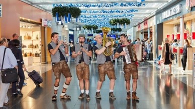 OKTOBERFEST AT FRANKFURT AIRPORT