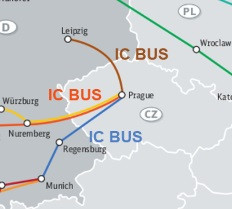 TRAVEL TO/FROM MUNICH,NUREMBERG AND LEIPZIG - PRAGUE BY IC BUS