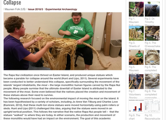 New Article on the Environmental Impacts of Rope Production on Easter Island by Lab Member Maureen F
