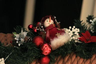 снеговичок на балке