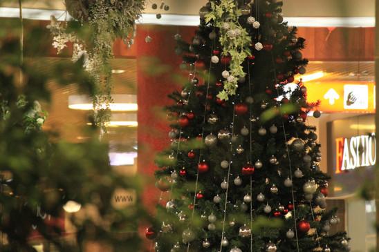 новый год в торговом центре