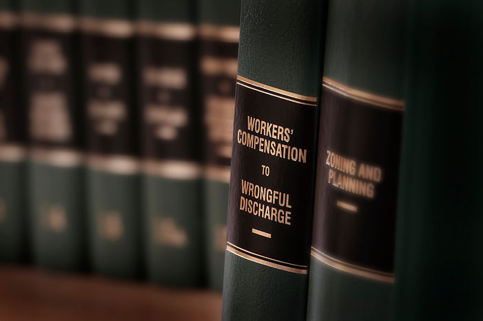 Workers compensation law books injured o