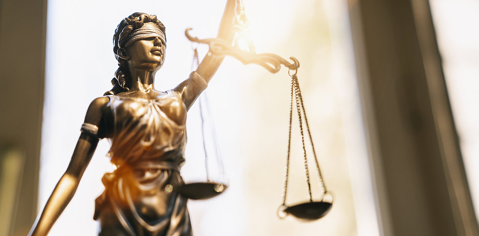 The Statue of Justice - Lady Justice or