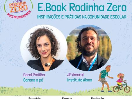Instituto Aromeiazero promove bate-papo sobre Educação ao Ar Livre e Bicicleta