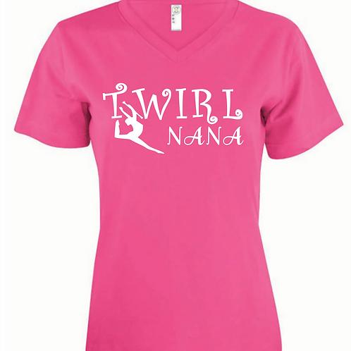 Twirl Nana -  V Neck