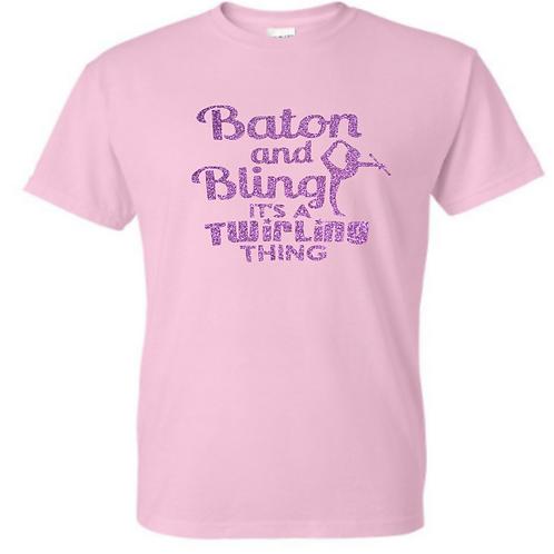 Pink Bling Tee