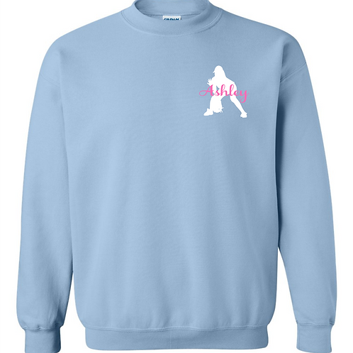 Personalized Softball Sweatshirt - Fielder