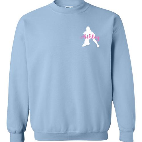 Personalized Softball Sweatshirt - Fielder