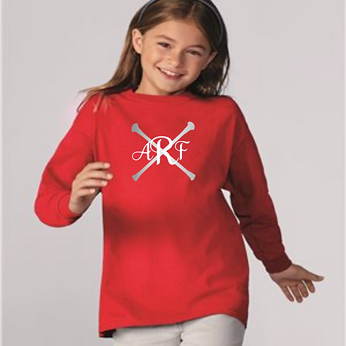 Personalized L/S Twirling Tee - Red