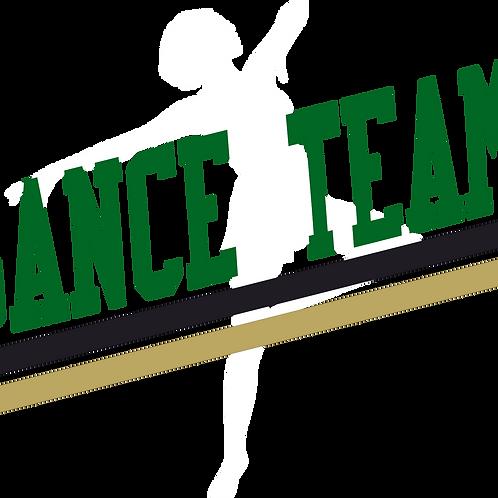 Dance Team - varsity letters