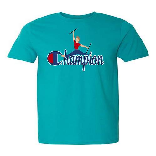 Champion Guys - Teal Shirt