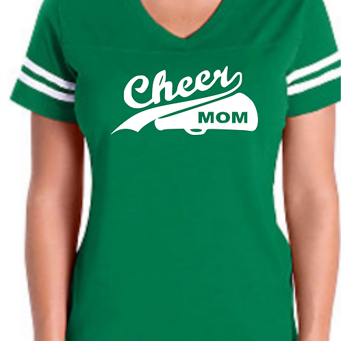 Cheer Mom - Green Jersey