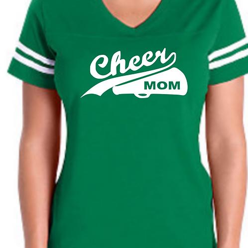 Cheer Mom - Green Jersey
