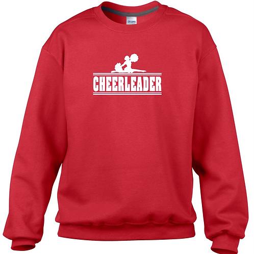 Cheerleader Sweatshirt-Red