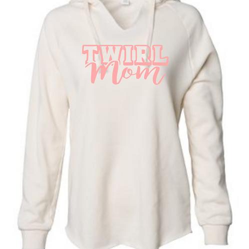 Twirl Mom - Raw Edge Sweatshirt
