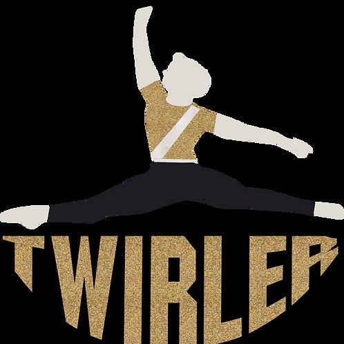 Baton Twirler -Male - Gold