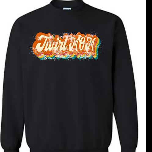 Vintage Twirl MOM Sweatshirt