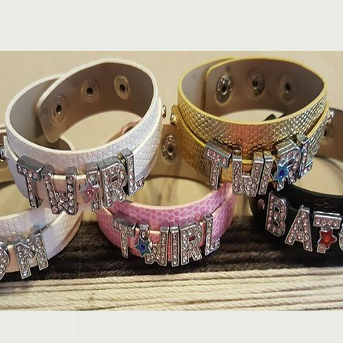 Personalized Slide Bracelet