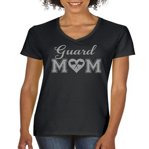 Guard Mom V Neck