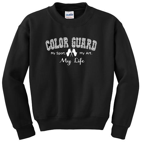 Color Guard Sweatshirt-Black