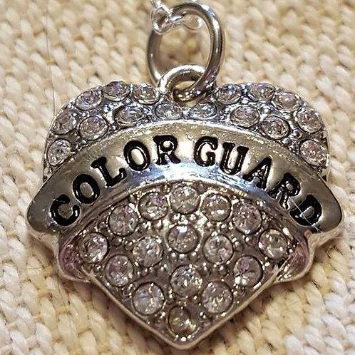 Baton - Color Guard Heart