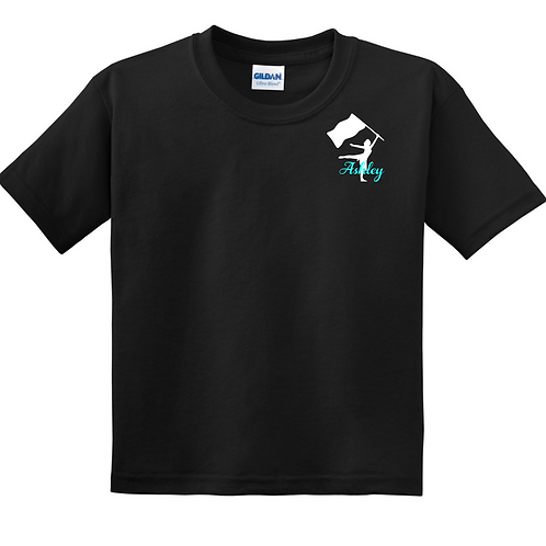 Personalized Flag - Black Tee