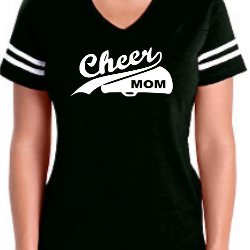 Cheer Mom - Black Jersey