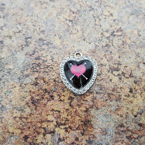 Heart Cross Baton-  heart shape