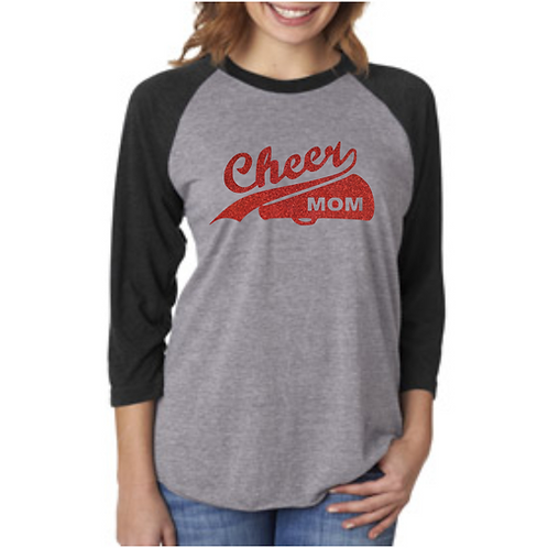 Cheer Mom - Raglan